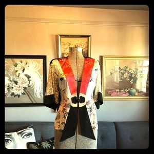 Spencer Alexis kimono style blouse / light jacket